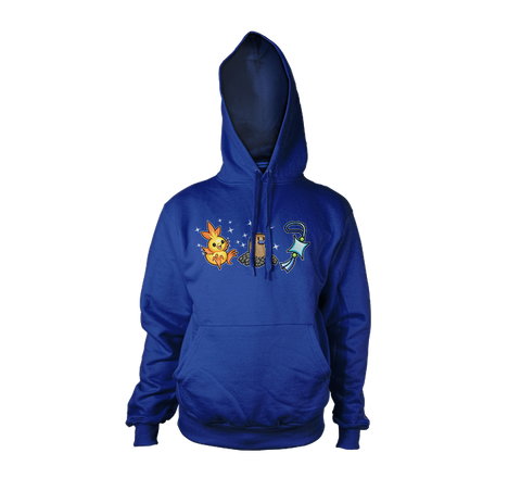 Chicks Dig Shinies Hoodies