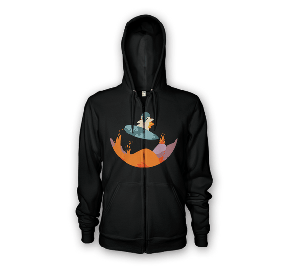Surfing Safari Hoodies