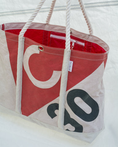 Catalina 30 sailcloth beach bag