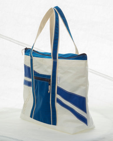recycled sail beach bag