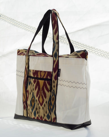 Sailcloth beach bag