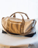 recycled sailcloth duffle bag