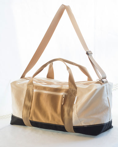 Choptank Travel Duffle: Sail Cloth Bag