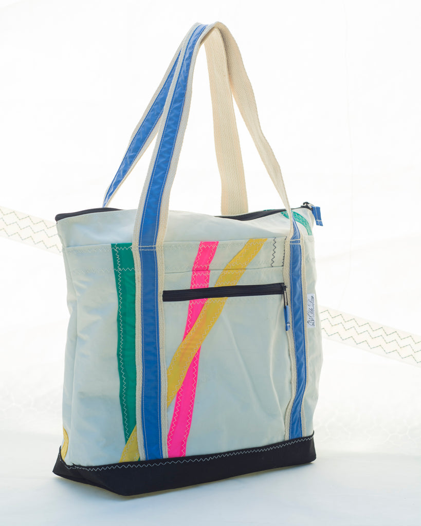 Recycled Sailcloth Bag: Small Terrapin Tote