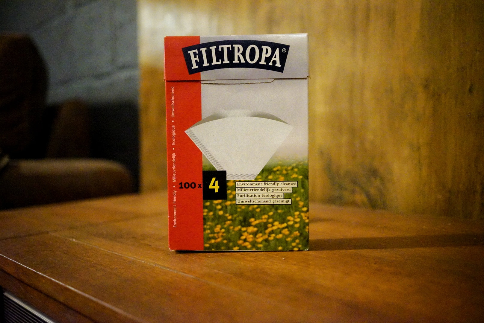Filtropa Filter Papers (100) Size 4