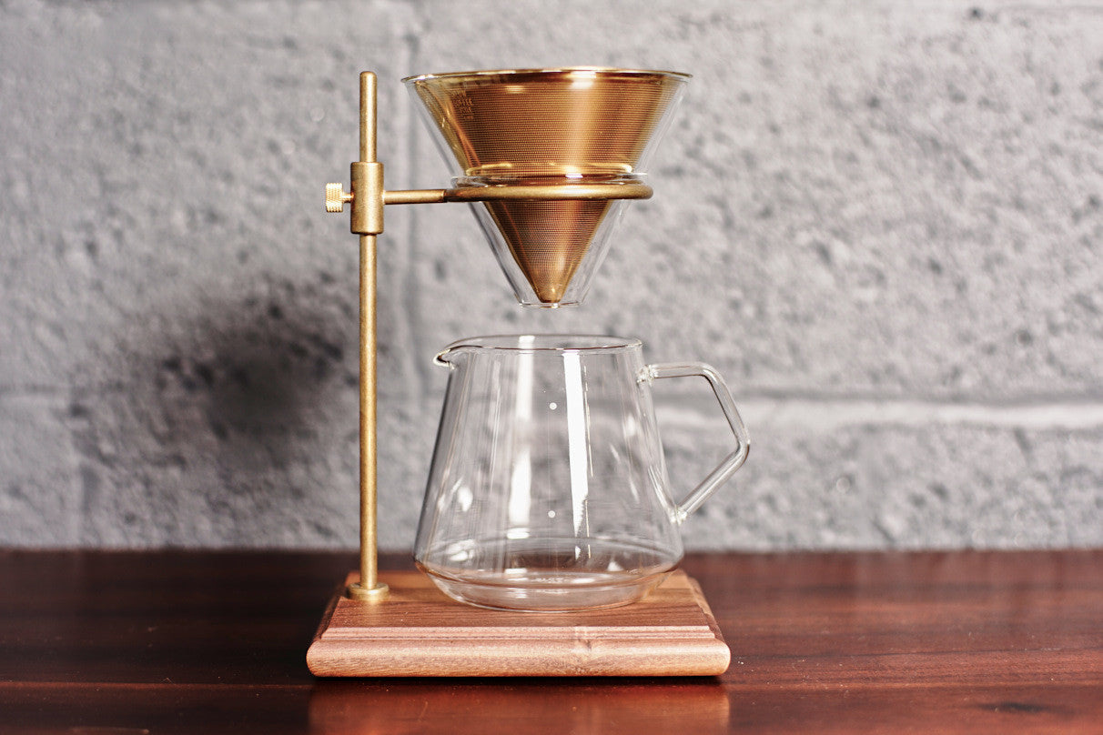 Kinto 4-Cup Brewer Stand Set