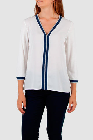 Cotton brothers  - White Long sleeved top