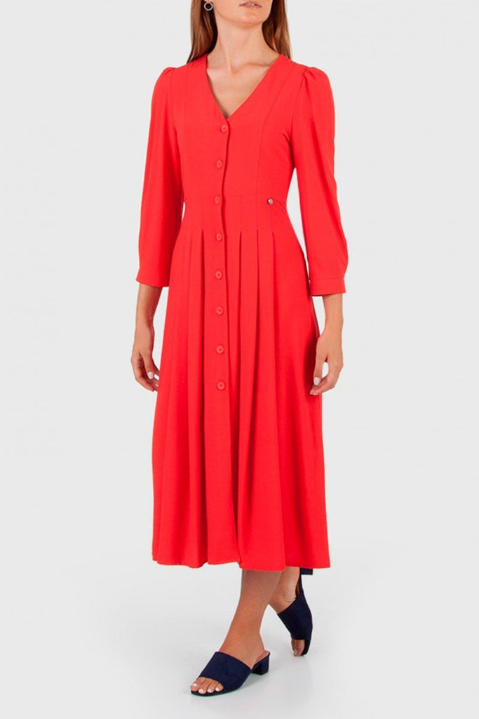 Cotton brothers  - Red maxi dress