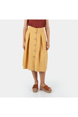 Cotton brothers  - Gold buttoned skirt
