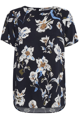 B Young - Byilena floral top