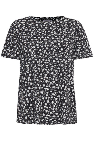 B Young - Byrillo print top