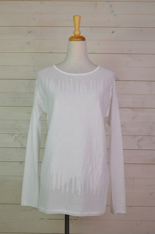 Bohemia - TG003 White knit top
