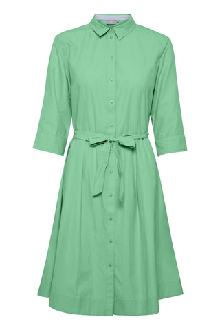 B Young - Byfarsara green shirtdress
