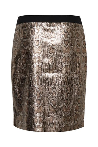 B Young - Bydean sequinned skirt