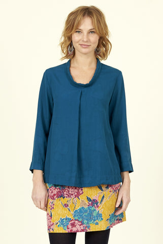 Nomads - LT4043 Pleat Front Top