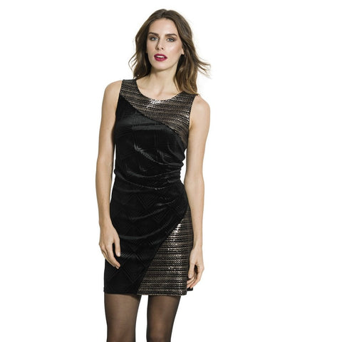 Smash - Esther velvet and sequin dress
