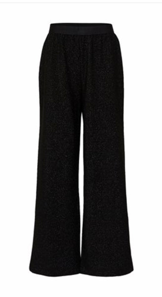 Selected Femme - Slfcia lurex trousers
