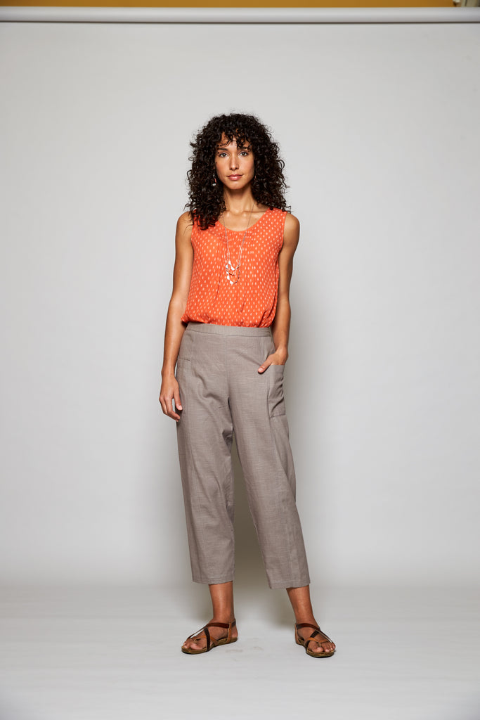 Nomads - PW1026 Relaxed Crop trouser
