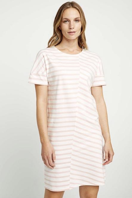 People Tree -  Cornelia stripe tunic dress
