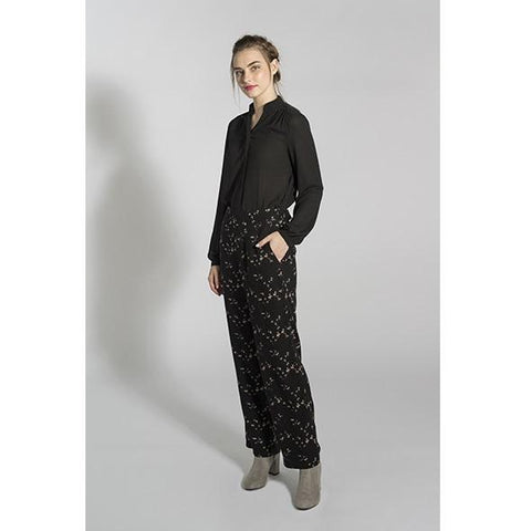 Smash - Auri winter floral print Trousers
