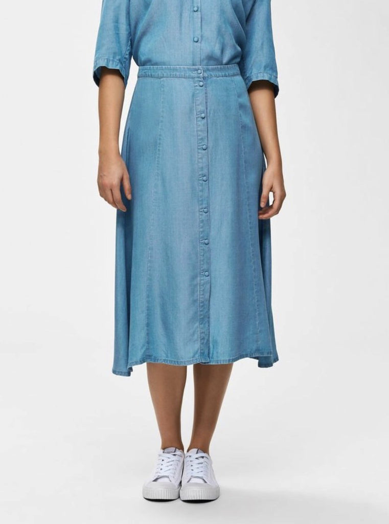 Selected Femme - Slfnoma A-line skirt