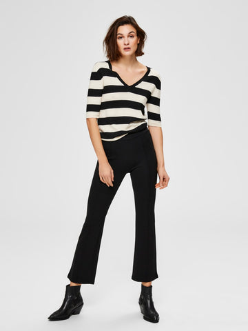 Selected Femme - Slfcaro mw ankle pants