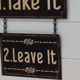 Metal Hanging Sign - Dinner Choice