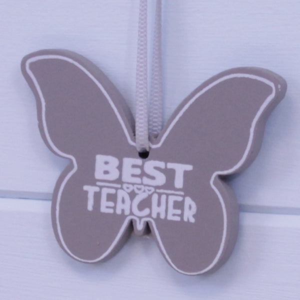 Thank You Teacher Butterfly Gift Tag