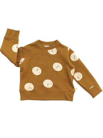 Tinycottons - Faces Unisex Sweatshirt - BubbleChops - 1
