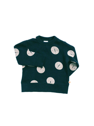 Tinycottons - Faces Unisex Sweatshirt - BubbleChops