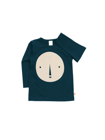 Tinycottons - Round Face Graphic T-shirt - BubbleChops