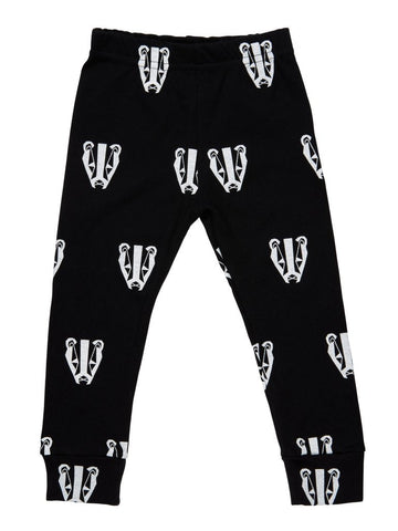 Tobias & the Bear - Boris the Badger Leggings - BubbleChops