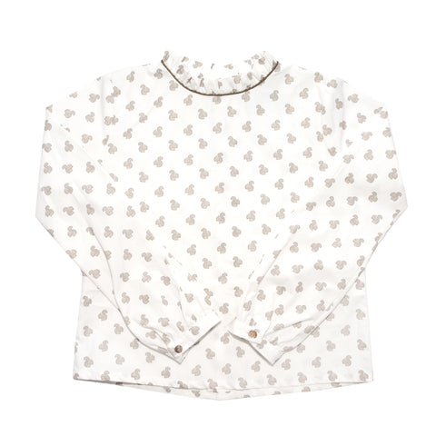 Plumeti Rain - Squirrel Blouse - BubbleChops - 1