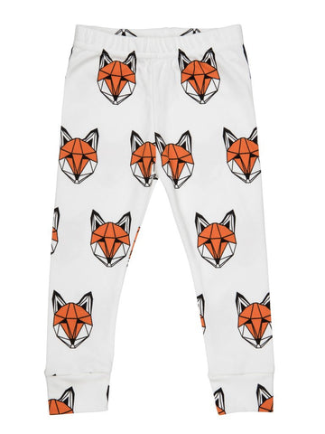 Tobias & the Bear - Just Call Me Fox Leggings - BubbleChops - 1