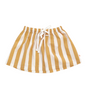 Tinycottons - White & Camel Striped Skirt - BubbleChops - 2
