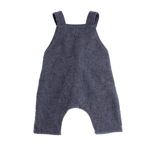 Tocoto Vintage - Baby Wool Overalls - BubbleChops - 1