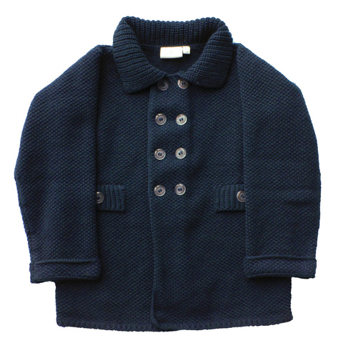 Aravore - Retro Navy Coat - BubbleChops - 1