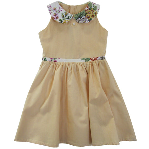 Aravore - Vintage Floral Detail Dress - BubbleChops - 1