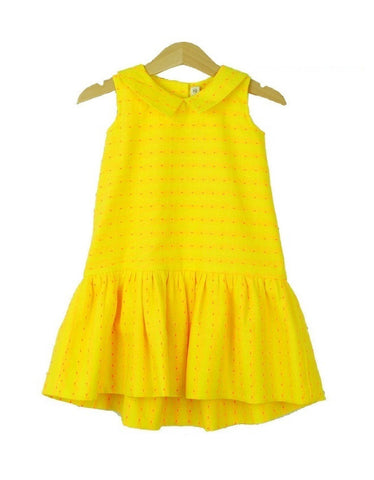 Whimsigirl - Yellow Juliette Dress - BubbleChops - 1