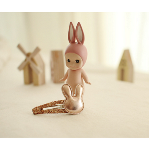 Arim Closet - Rabbit Hairclip (Gold)
