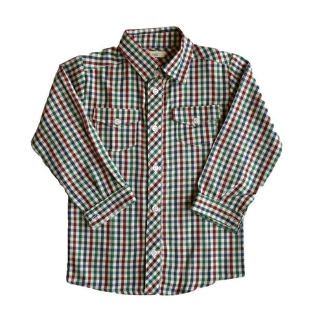 Plumeti Rain - Leo Checked Shirt - BubbleChops - 1
