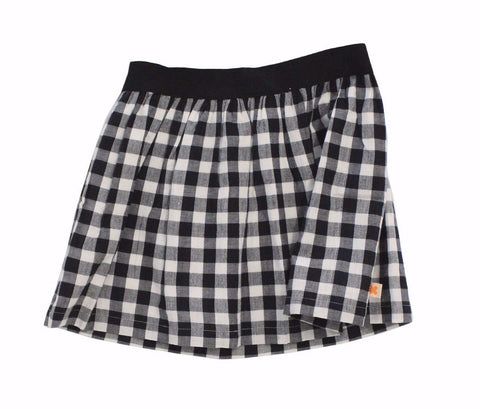 Tinycottons - Black & White Check Skirt - BubbleChops