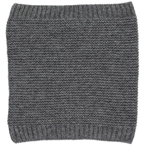 Olivier Baby & Kids - Cashmere Snood in Dark Grey - BubbleChops