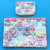 Friendship is Colorful Pouch Set