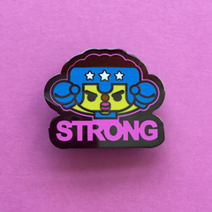 STRONG Enamel Pin