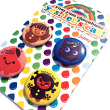 YES! Let's Eat! Button Set