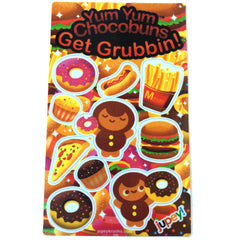 Get Grubbin! Sticker Sheet