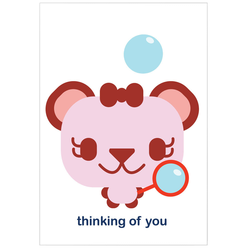 """thinking of you"" card"