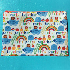 Yum Yum Chocobuns Party Together Large Pouch