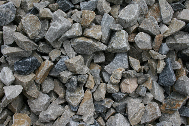 3 4 Quot Crushed Stone : Light grey crushed stone quot dambly s garden center